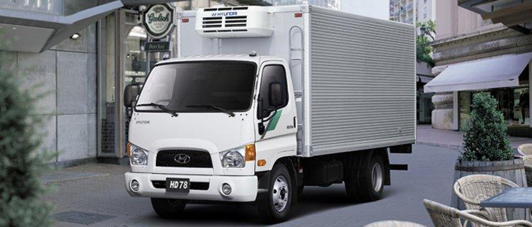 Изотермический фургон HD-78